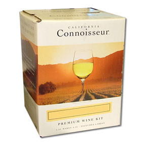 California Connoisseur White Wine 6 bottle Kits