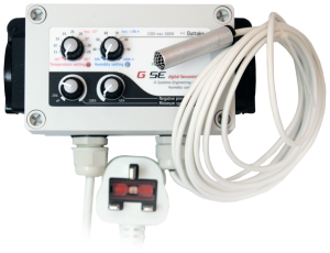 GSE humidity, temp & neg press controller