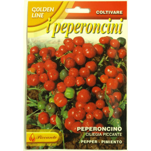 Ciliegia Piccante Chilli Pepper Seeds