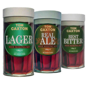 Tom Caxton Beer Making Kits