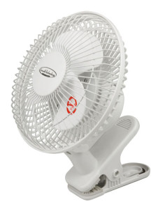 "Growth Technology 6"" Clip on Fan"