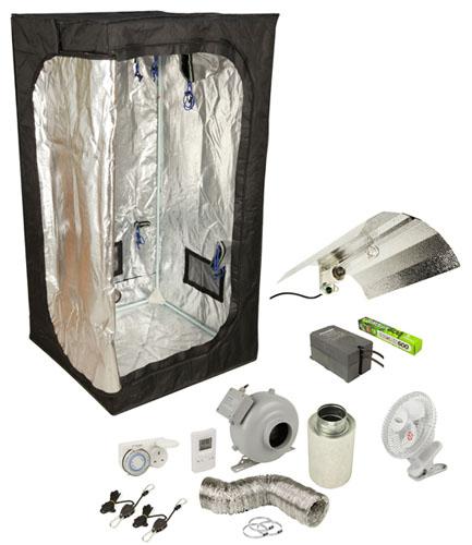 sc 1 st  The Inner Garden & HE Complete Grow tent Kit 100cm x 100cm x200cm - The Inner Garden
