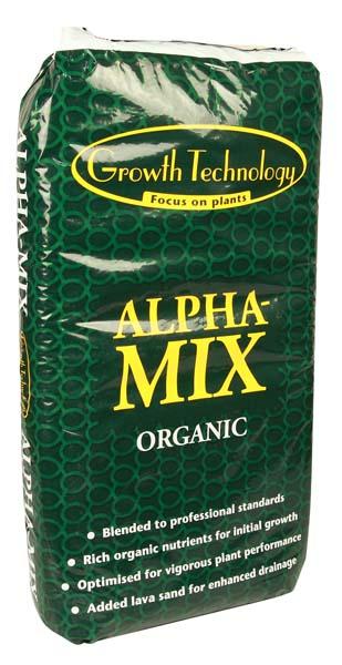 Alpha mix organic soil the inner garden for Organic soil uk